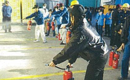 避難訓練・消火訓練